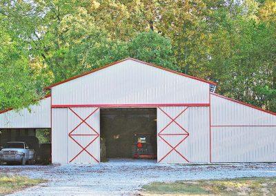 New Hay Barn